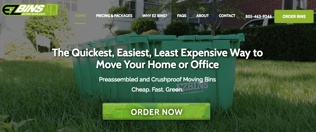 Rent Plastic Moving Boxes Nyc And Moving Supplies Ez Bins